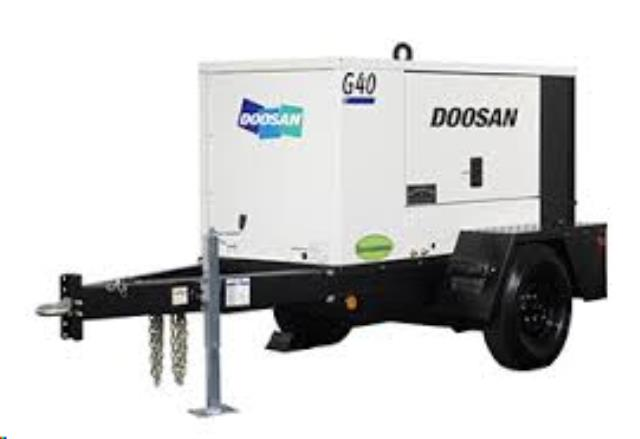 Where to find GENERATOR, 40 KVA TOWABLE in Chico