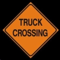 Rental store for SIGN,  TRUCK CROSSING in Chico CA