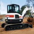 Rental store for EXCAVATOR, BOBCAT E45 in Chico CA