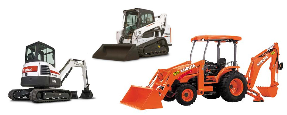 Equipment Rentals in Northern California